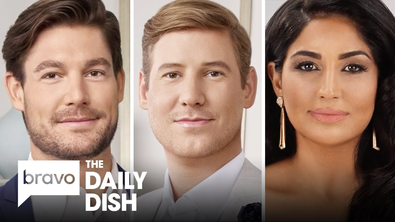 Craig Conover, Austen Kroll and Leva Bonaparte From Southern Charm | The Daily Dish