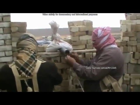 Battlefield Iraq  Heavy Clashes And Fighting Between Insurgents And Iraqi Army In The Anbar Province