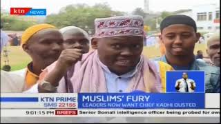 Muslim leaders call for ouster of Chief Khadhi over interference