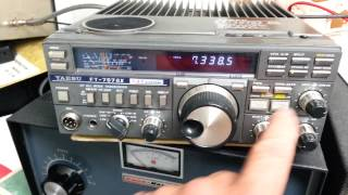 Yaesu FT 757GX HF Transciever