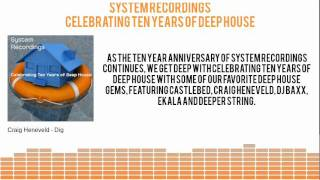 System Presents: Celebrating Ten Years of Deep House