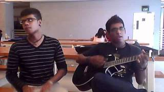 Hey Soul Sister Cover with Dhol and Acoustic Guitar