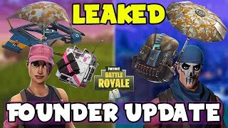 FOUNDER UPDATE/SKINS FINALLY COMING To Fortnite Battle Royale! (Epic Employee Leaks The UPDATE)