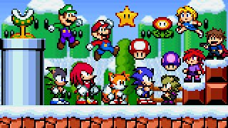 Sonic Boll 2.0 - All Characters. ᴴᴰ