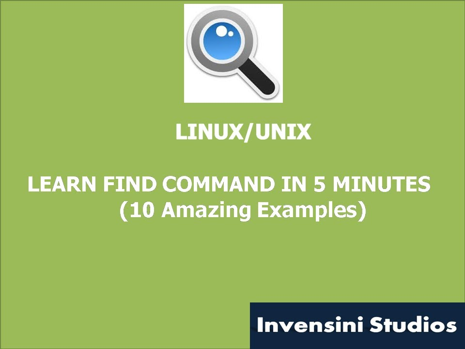 Learn Find Command In 5 Minutes Youtube