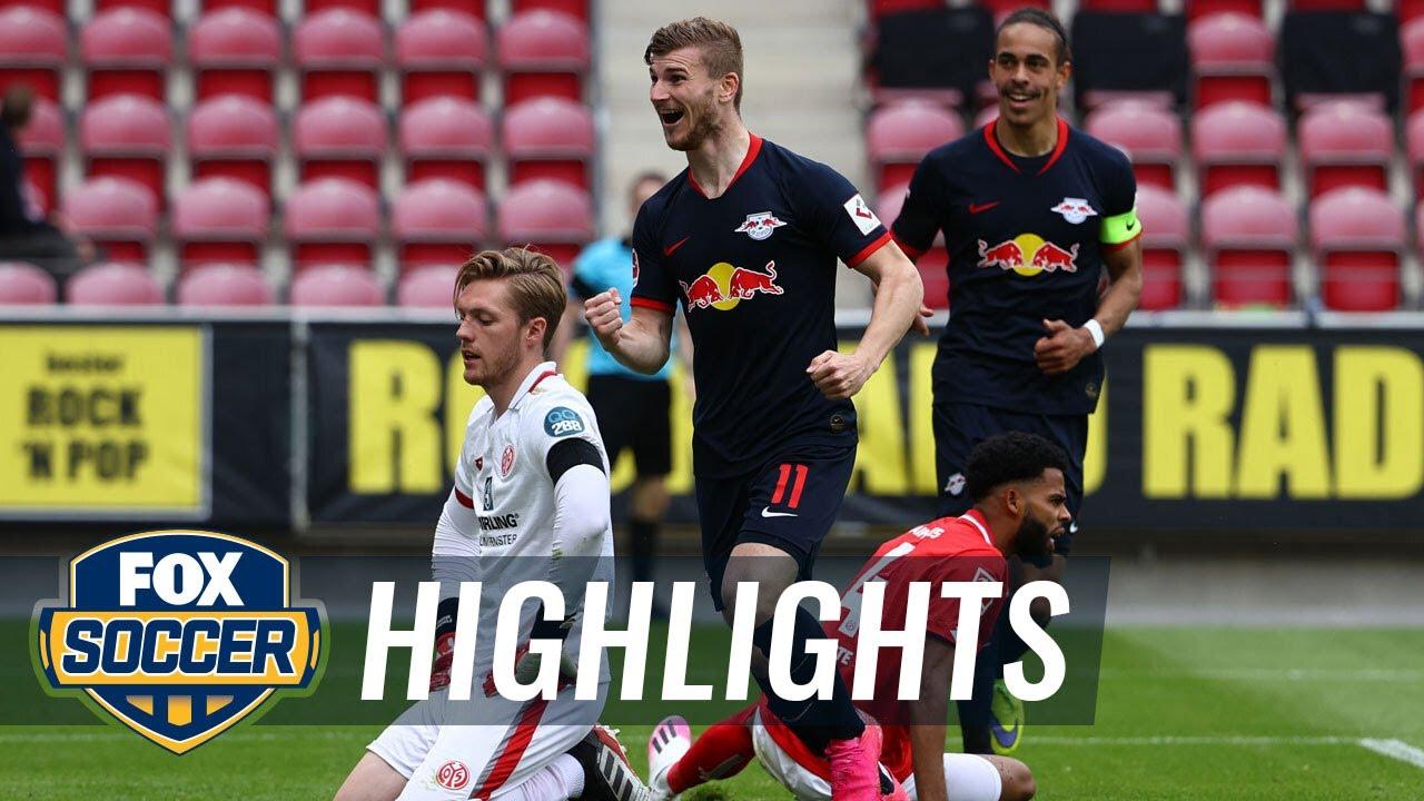 Mainz 05 0 - 5 RasenBallsport Leipzig