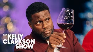 Watch Kevin Hart And Kelly Chew Wine With A Sommelier