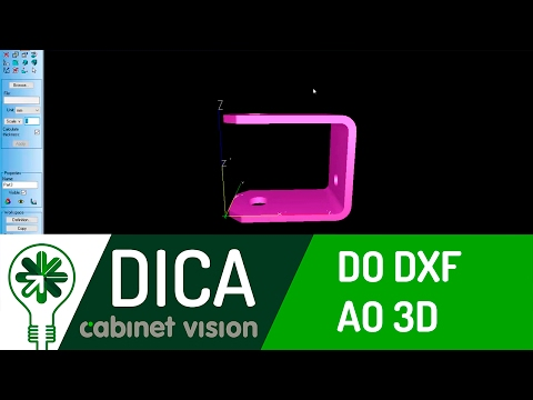 Dica 02 RD | Do DXF ao 3D