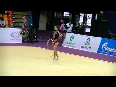 Lozhkin Emma (CAN) Hoop Int Comp Senior Grand Prix Moscow 2015
