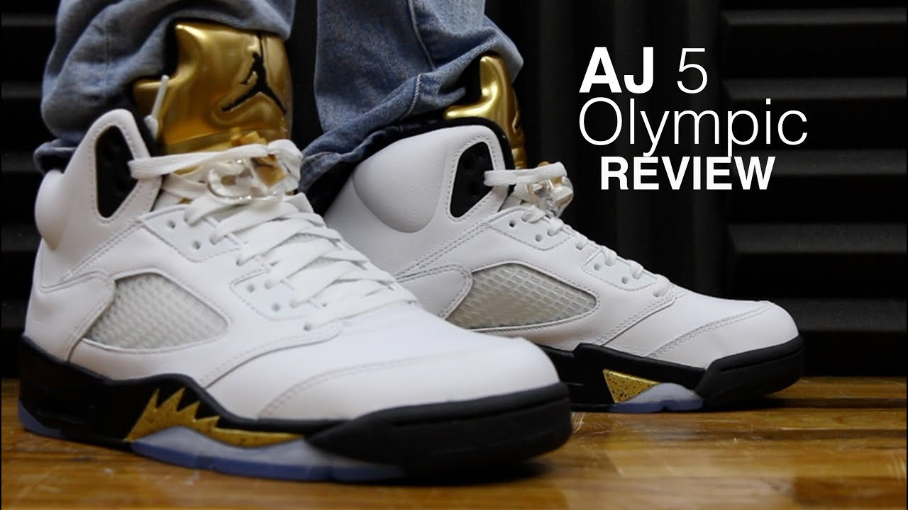 AIR JORDAN 5 OLYMPIC GOLD MEDAL