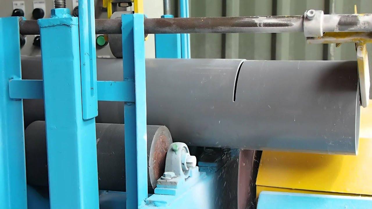 PVC PIPE CUTTING MACHINE AUTOMATICALLY - YouTube