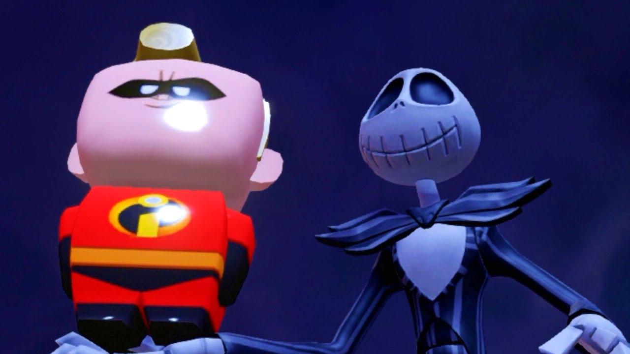 Jack Skellington Battle 5 | Nightmare Before Christmas  | Disney Infinity