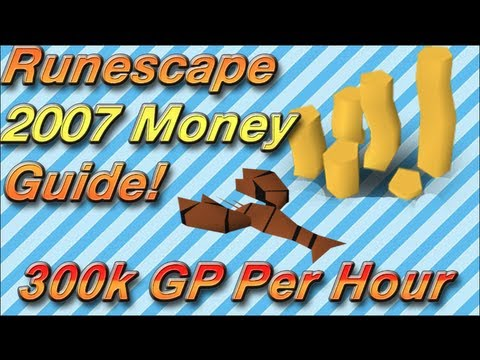 Runescape 2007 Money Making Guide | Merchanting | 300k GP Per Hour | Raw Lobsters