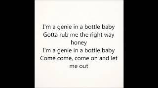 Genie in a Bottle - Christina Aguilera (Sofia Karlberg Cover)-lyrics
