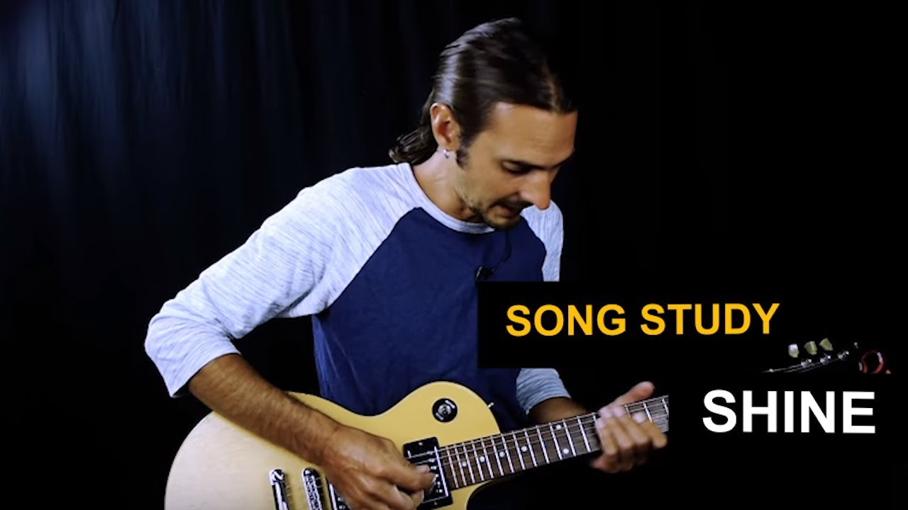 How To Play Shine By Collective Soul On Guitar Youtube