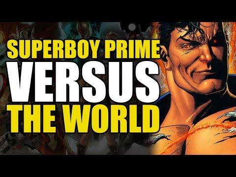 The Sinestro Corps War: Superboy Prime One Shot