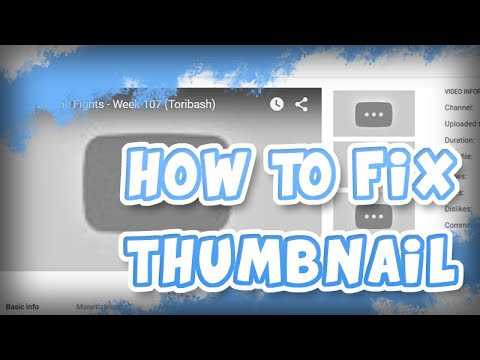 How To Fix YouTube Not Showing Thumbnail