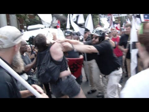 Raw Footage of the Violence at Lee Park, Charlottesville