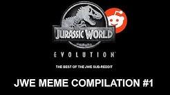 JWE MEME COMPILATION #1 | BEST OF REDDIT JURASSIC WORLD: EVOLUTION MEMES
