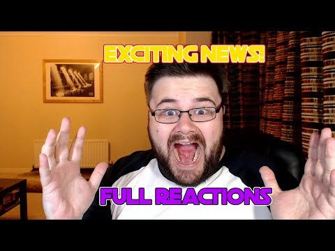 Exciting news for the channel including full reactions!