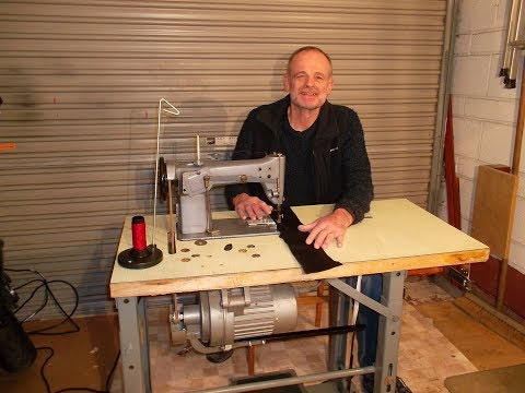 Industrial Sewing Machine for Outdoor Gear