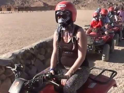 Sahara Desert, Egypt on quad bikes trip to the village to baboons (PARK ZOO)Part 4