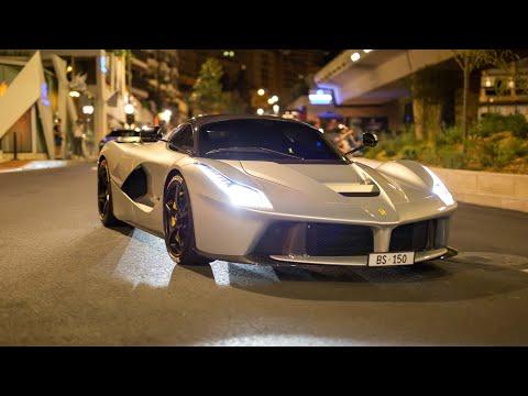 Ferrari LaFerrari - Start Up, Accelerations & Driving in Monaco !