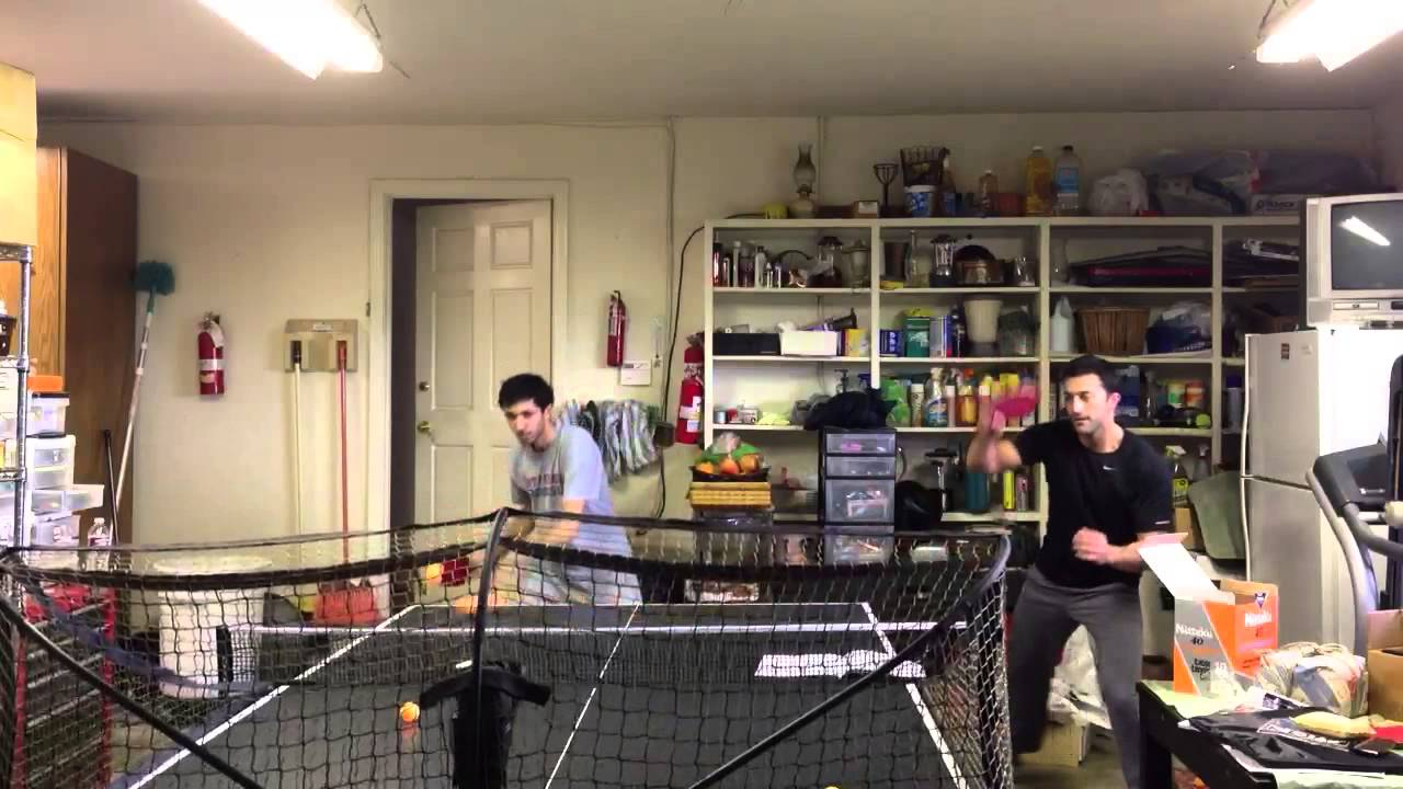 ping pong machine