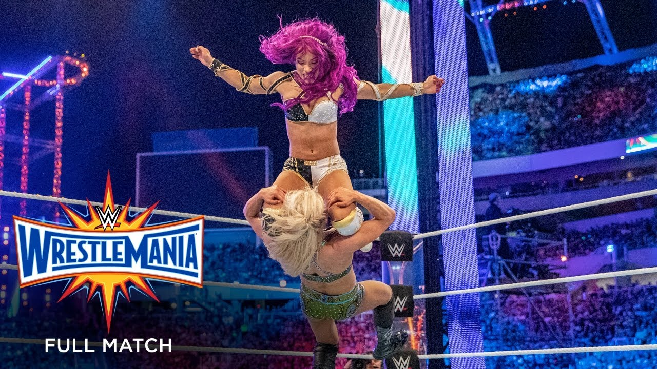 Download FULL MATCH - Raw Women's Championship Fatal 4-Way Elimination Match: WrestleMania 33