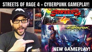 Streets of Rage 4 SHOCKER! Cyberpunk 2077