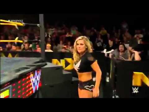 NXT 14.01.15 Charlotte  Natalya vs Sasha Banks  Becky Lynch 2