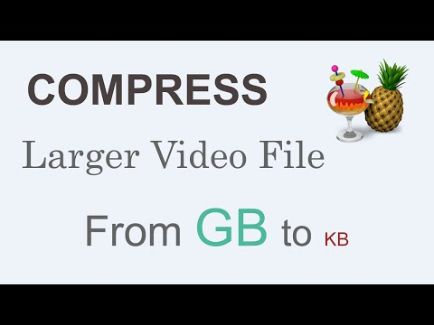 Compress larger  file from GB to KB 14 GB to 400 KB in minutes