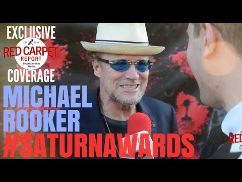 Michael Rooker #GotG interviewed at the 44th Annual Saturn Awards Red Carpet #SaturnAwards