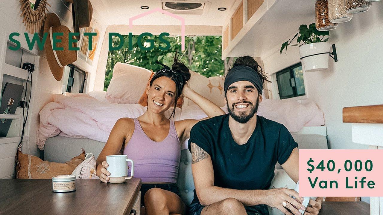 We Spent $40k To Live The Van Life | Sweet Digs