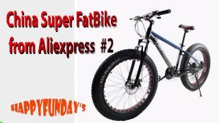 Посилка ALIEXPRESS - China FatBike розпакування 2