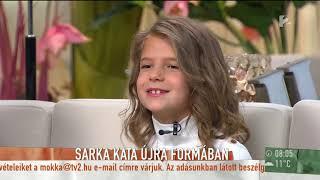 Vigyázat, gyerekkel vagyok!: Sarka Kata utoljára vállalt tévés felkérést? - tv2.hu/mokka