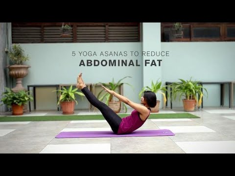 5 Yoga Asanas to reduce Abdominal Fat