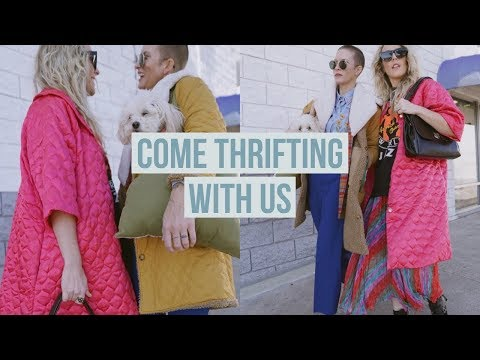 COME THRIFTING WITH US// A DIY THRIFT TRIP WITH MOLLY JENSON