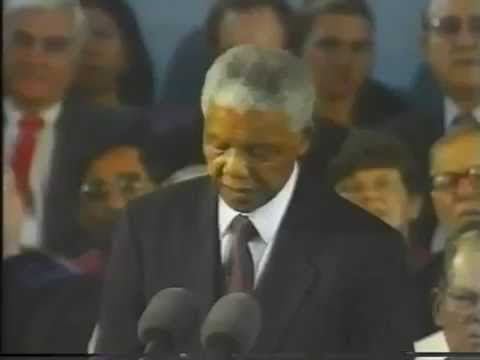 Nelson Mandela Speech at Harvard 1998