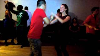 Brandon Carretero & Maggie Brukalo Social Dance at Mr. Mambo