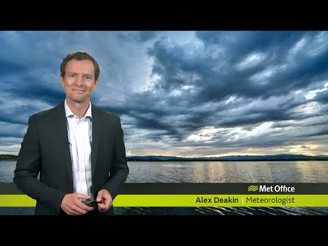 Friday afternoon forecast 26/07/2019