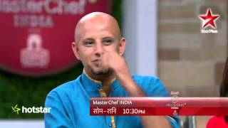 The judges and contestants have some fun on MasterChef India 4