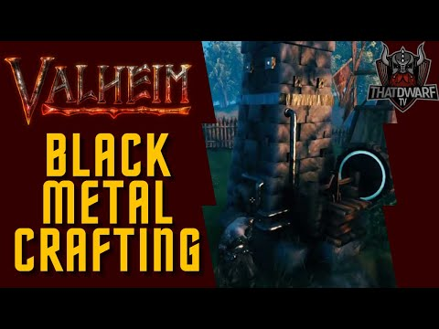 Valheim – Black Metal Gathering and Crafting Guide