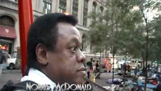 Norris McDonald Tours Occupy Wall Street HQ