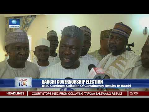 INEC Continues Collation Of Constituency Results In Bauchi