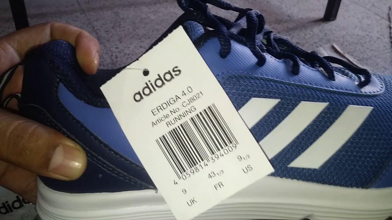 a8d86e0df men s adidas running erdiga 4.0 shoes - YouTube