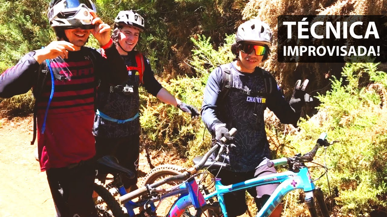 Retos, Curvas, Saltos y Cortos en Bicicleta de Montaña!