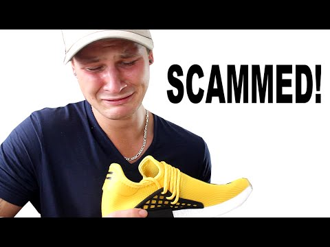I BOUGHT FAKE $1000 SNEAKERS!?