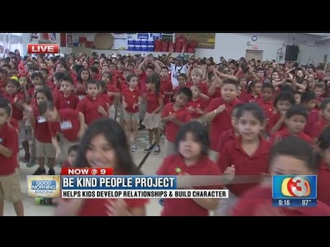 "Galveston Elementary School get a ""Be Kind"" lesson through dance Part 2"