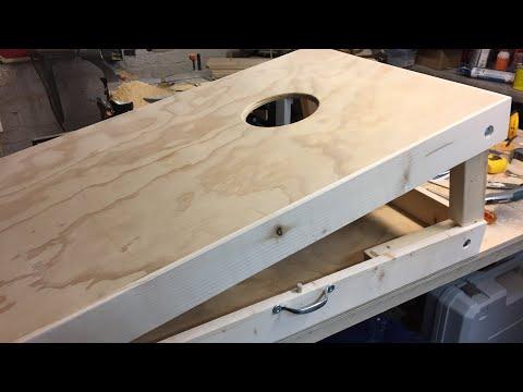 DIY Portable Cornhole Boards
